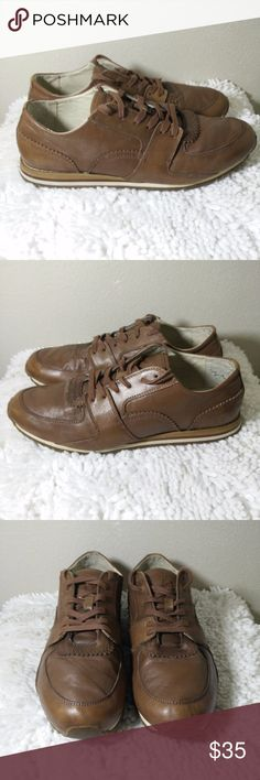 Vince Camuto Gori Brown Leather Sneakers Sz 11.5 D Vince Camuto Gori 267 Men's Brown Leather Fashion Sneaker 11.5 D -  Great looking fashion sneakers in GREAT pre-owned condition - please see pictures for more details... (ref#2127) Vince Camuto Shoes Sneakers