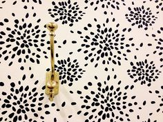 Fireworks by Albert Hadley wallpaper.  Available through Hinson