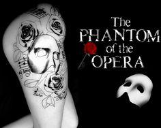 The Phantom of the Opera tattoo