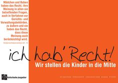 Kinderrechte - Katholische Jungschar Languages, My Style, Home Decor, Child Rights, The Bible, Catholic, Deutsch, Guys, Idioms