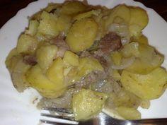 Alsaská zemiaková panvica-to je fakt žranica! Ham, Potato Salad, Potatoes, Chicken, Ethnic Recipes, Food, Projects, Log Projects, Blue Prints