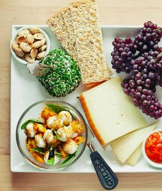 Summer Cheese Plate