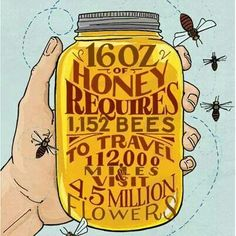 They work hard for the honey