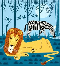 Tandis que The Lion Sleeps édition limitée par iotaillustration