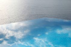 The infinity pool at the Villa Mahal in Turkey is a simple infinity style pool that does what infinity pools were made to do; give you the illusion of a pool that drops into the sky. More amazing pools at this site.