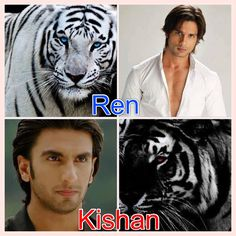 My boys - Shahid Kapoor and Ranveer Singh - Tiger's Curse  In full agreement that these guys are absolutely perfect for the parts of Ren and Kishan!