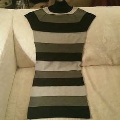 Short sleeve sweater dress Worn only once! Tag size is XS, but fits like a S. I've never been an XS lol Xhilaration Dresses