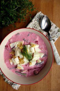 Beetroot soup Külm peedi supp