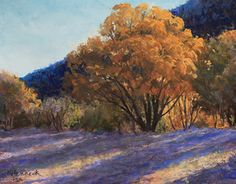 Long Shadow Time by Karen Henneck Pastel ~ 11 x 14
