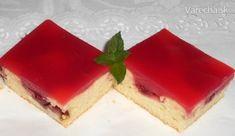 Jahodový hrnčekový koláč (fotorecept)
