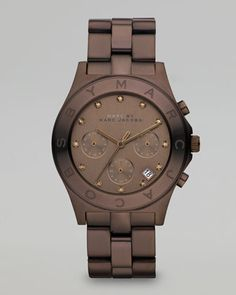 Blade Watch, Brown by MARC by Marc Jacobs at Bergdorf Goodman.