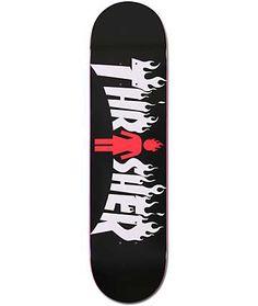 """Girl X Thrasher 8.0"""" Collaboration Skateboard Deck"""