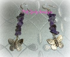 Fly Away With Me Amethyst Gemstone Chip by PinkRocksBoutique, $5.00