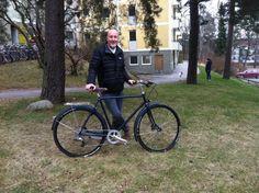 Bicicleta clasica #Pilen tuneada por Thomas recycling.  www.pilen.com.es