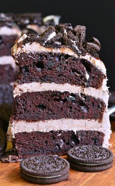 CHOCOLATE OREO CAKE Really nice recipes. Every hour. Show me what you cooked!