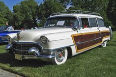 1956 Cadillac Viewmaster Wagon..Re-pin brought to you by agents of #Carinsurance at #HouseofInsurance in Eugene, Oregon