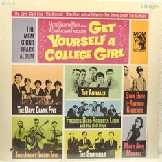 Various - Get Yourself A College Girl: buy LP at Discogs