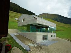Val d'Entremont House, Sembrancher, Switzerland by Savioz Fabrizzi Architectes.