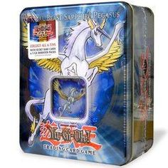 YuGiOh GX 2007 Collector's Tin Series 1 Crystal Beast Sapphire Pegasus (OUT OF PRI NT)