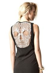 Premonition - SKULL DRESS   http://shop.premonitiondesigns.com/collections/womens-autumn-winter-2012/products/skull-dress-ivry