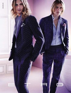 Etro Taps Ton Heukels & Viggo Jonasson for its Spring/Summer 2013 Campaign