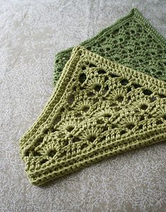 Lacy Crochet Kerchief by Kristen TenDyke free crochet pattern