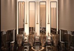 Sochi Marriott Hotel   Public WC design By Mert Duyal