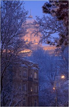 Budapest Bug — Budapest under snow Hungary Travel, Magic City, Winter Scenery, Military Life, Winter Holidays, Homeland, Beautiful Places, Snow, World