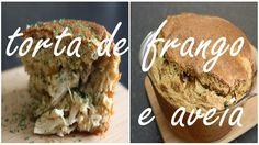 169.Torta De Frango, Aveia E Queijo Quark Saudável | Healthy Chicken Pie