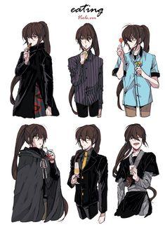 Image Manga Anime, Manhwa Manga, Anime Guys, Anime Art, Character Inspiration, Character Design, Webtoon Comics, Cute Gay, Touken Ranbu