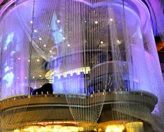 The Chandelier Bar at the #Cosmopolitan Las Vegas
