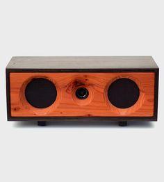 Willow Reclaimed Redwood Speaker - So pretty!