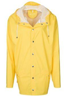 Rains - Regnjakke / vandafvisende jakker - yellow