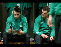 Conor Murray and Johnny Sexton Leinster Rugby, Ireland Rugby, Wales Rugby, Irish Rugby, Chantel Jeffries, Rugby Players, Candid, Sports, Oc