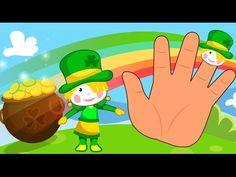The Finger Family - Kids-Songs \ st patrick's finger family - YouTube