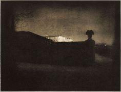 Edward Steichen - Nocturne 1908