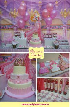 Gorgeous Princess Aurora birthday party! See more party ideas at CatchMyParty.com!