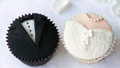 Resultado de imagen para cupcakes para bodas originales