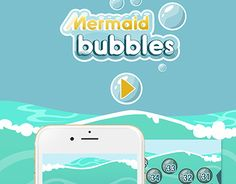 """Check out new work on my @Behance portfolio: """"Mermaid Bubbles Game Interface"""" http://be.net/gallery/55227327/Mermaid-Bubbles-Game-Interface"""