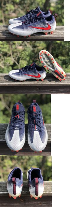 best loved 8b97f ceb73 Shoes and Cleats 159115  Nike Vapor Untouchable Pro Blue Red Mens Football  Cleats Size 11.5