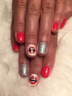 Here we go #discotheque #nails #nailart #fun #manicure #perfectmanicure