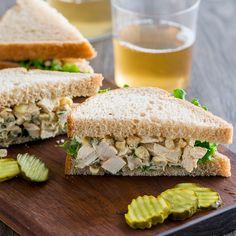 Chicken and Corn Salad Sandwich | Food