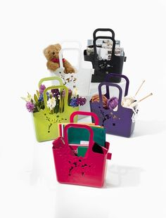Alice Bag/Basket. Assorted colors available.