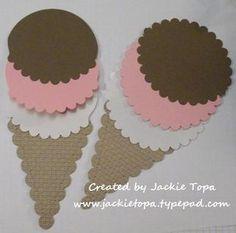 Ice Cream Cone - Name tags??
