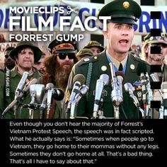 """For those who already watched the Movie """"Forrest Gump"""", this is the unheard message of Forrest Gump on his speech."""