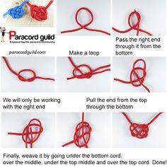 How to tie a celtic heart knot - Paracord guild
