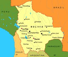 map of Bolivia - Google Search
