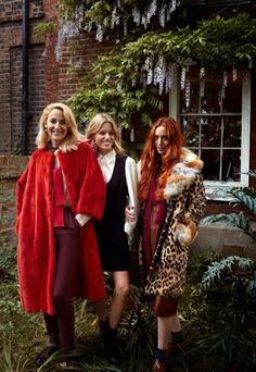 Jerry Hall, Lizzy Jagger & Georgia May Jagger by Yelena Yemchuk for Elle Italia