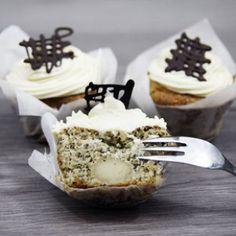 Marzipan-Mohn-Cupcake