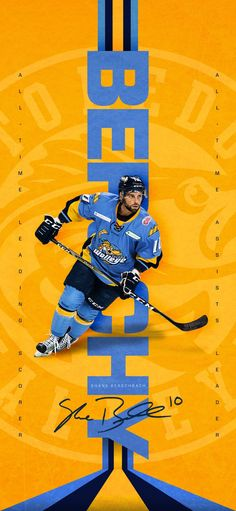 18d60942431 Wallpaper of Toledo Walleye player Shane Berschbach.   WalleyeWallpaperWednesday Toledo Walleye